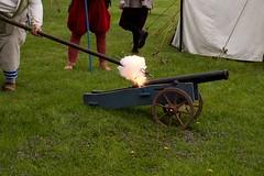 Opening cannon! (Pahz) Tags: gsmbristol cannon janesvillerenaissancefaire janesvillewi traxlerpark renaissancefaire renfaire renaissancefairephotographer pattysmithjrf jvl wisconsin