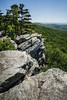 Annapolis Rock [05.24.18] (Andrew H Wagner | AHWagner Photo) Tags: canon eos 5d3 1635l 1635mm f4 f4l is usm 5dmk3 5dmkiii 5dmarkiii 5dmark3 ultrawideangle wideangle nature trees tree landscape mountains valley rocks rocky outdoors explore exploration exploring hiking summer md maryland mountain annapolisrock appalachiantrail southmountainstatepark statepark lookout viewpoint