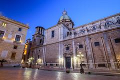 Palermo - Teatini (1645 AD) (bautisterias) Tags: palermo sicily sicilia southernitaly italy unesco arabnormanpalermo night longexposure dawn baroque barocco
