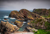 The End of the Street (Augmented Reality Images (Getty Contributor)) Tags: portknockie longexposure coastline landscape cave water scotland nisifilters waves fog morayfirth canon clouds seascape rocks unitedkingdom gb