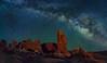 Garden Stars (McKendrick Photography) Tags: gardenofeden archesnationalpark moab utah milkyway greatphotographers