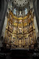 Astorga (León-España). Catedral. Retablo Mayor de 1584, obra de Gaspar Becerra (santi abella) Tags: astorga león castillayleón españa catedraldeastorga retablos