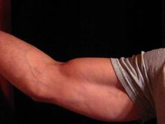 BIG BULGING BICEPS (FLEX ROGERS) Tags: flexing flex fitness weightlifter bicep bodybuilder big bicepart bodybuilding biceps bizep bulging bizeps guns 18inch strong round massive v