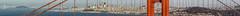 north tower slice panorama (pbo31) Tags: goldengatebridge bridge bayarea california nikon d810 color june 2018 boury pbo31 101 sanfrancisco skyline city panorama stitched large panoramic over batteryspencer goldengatenationalrecreationarea marincounty northbay blue slice bay
