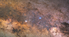 Alpha Centauri in Context, variant (sjrankin) Tags: 7june2018 edited nasa star alphacentauri alphacentauria alphacentaurib chandra chandraspacetelescope xray eso europeansouthernobservatory