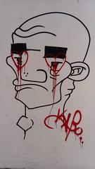 DSC_0136 (Benoit Vellieux) Tags: lyon france streetart graffiti 9èmearrondissement 9thdistrict gorgedeloup ruesergentmichelberthet visage face gesicht coeur heart herz larmes tears tränen sang blood blut