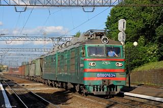 UZ VL80K-634, Pidzamche, 2018/05/21.