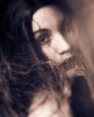 If You Knew (Kalliope-Amorphous) Tags: fineartphotography selfportrait portrait sepia darkart ghost haunting fashion darkfashion artisticselfportrait veils fog mystic mystical timeless