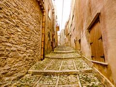 Following the Lines (Francesco Impellizzeri) Tags: erice sicilia italy ancient path panasonic landscape ngc