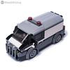 Bank Money Transporter (KEEP_ON_BRICKING) Tags: lego city car bank money transporter vehicle keeponbricking moc legocity town minifigure ride driver security