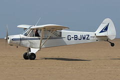 G-BJWZ (QSY on-route) Tags: gbjwz lancashire landing 2018 fly in knott end beach airfield 09062018