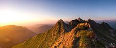 sommet de la Cape au Moine (MB*photo) Tags: capeaumoine alpes panorama panoramique wwwifmbch coucherdesoleil sunset switzerland suisse romandie montagne mountain
