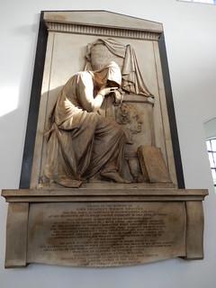 Monument, St Paul's Church, Clapham