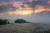 Ellingsen Island in morning fog (susannevonschroeder) Tags: lakesuperior clouds fog island northshore sky spring sunrise trees minnesota