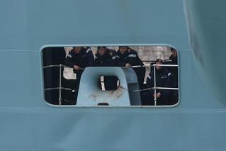 HMS Illustrious, Portsmouth, January 22nd 2009