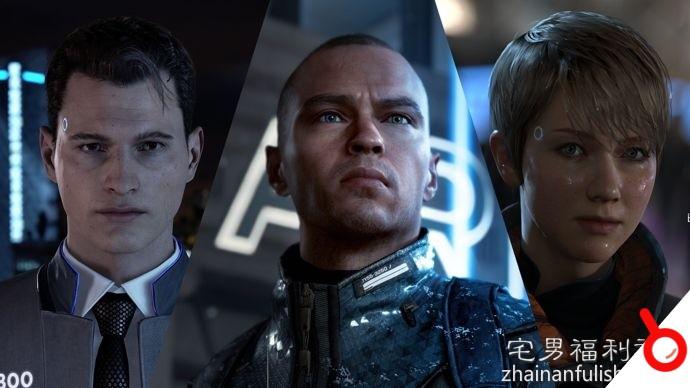 PlayStation 4遊戲安利:《底特律:變人》電影與遊戲的完美結合!