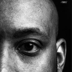 My good side (B. Adams Photo) Tags: selfportrait selfie canon50mm canon80d offcameraflash strobist blackwhite monochromatic