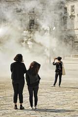 UK - London - Somerset House - Kimchi and Chips Halo 01_DSC4031 (Darrell Godliman) Tags: uklondonsomersethousekimchiandchipshalo01dsc4031 kimchiandchips halo somersethouse london artinstallation installation art contemporaryart modernart mist