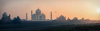 Sunset @ The Taj Mahal