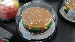 Hamburger Cake (Adventurer Dustin Holmes) Tags: 2018 hamburger cake dessert food walmart cheeseburger burger doublelayer icing lemonandstrawberrycake lemonstrawberrycake