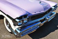 Light Purple Merc (Hi-Fi Fotos) Tags: vintage mercury lavender purple pastel retro chrome american classiccar nikon d5000 hififotos hallewell