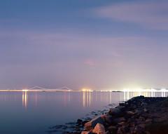 NY Harbor (devb.) Tags: 4x5 largeformat linhoftechnika4 150mm ektar nyharbor jerseycity nj storm lightning