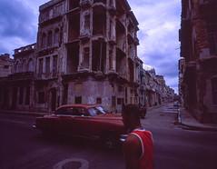 Streets of Havana  - Cuba (IV2K) Tags: havana habana lahabana cuba cuban kuba cubano caribbean habanavieja centrohavana fidel castro fidelcastro mamiya mamiya7 mamiya7ii mediumformat fuji fujifilm fujivelvia fujivelvia100 velvia velvia100 street