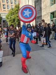 MVIMG_20180526_185053 (tastyeagle) Tags: sanjose california unitedstates fanime fanimecon anime cosplay 2018 captain america captainamerica