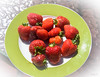 From from Garden (Jocey K) Tags: strawberries bankspeninsula newzealand nikond750 akaroa berries food plate