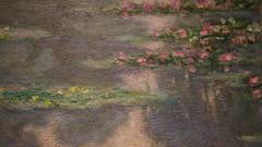 Water Lilies  The MET(17) (rverc) Tags: claudemonet metropolitanmuseumofart publicparksprivategardensparistoprovence