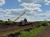UZ TU6A 2561 loading point peat fields Stoyaniv 21st May 2018 (Dunks railway pix) Tags: stoyaniv tu6a2561 tu6a peat peatrailway ukraine ту6а2561 ту6а стоянів