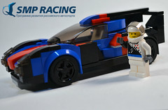 BR Engineering BR1 (OpenBagTwo) Tags: lego car moc speed champions lemans prototype lmp lmp1 smp smpracing brengineering br1
