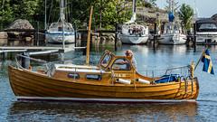 FIA II (tonyguest) Tags: båt wooden boat traditional clinker shearline canoestern karlshamn fiskehamn blekinge sverige sweden tonyguest stockholm träbåt