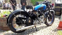 Grassington & Burnsall 27.5.2018 (3) (bebopalieuday) Tags: yorkshiredales upperwharfedale grassington thesquare bsa m20 500cc 496cc sidevalve single 1949 classicbike motorbike motorcycle northyorkshire
