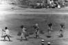 img301 (Höyry Tulivuori) Tags: india 1970 street life people cars monochrome men women child 70s vintage seventies temple city country индия улица чернобелое автомобиль дома народ быт workers