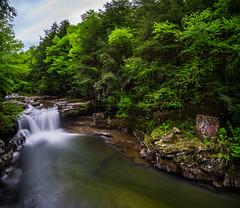 Bartlett Falls - Bristol, VT (Dino Sokocevic) Tags: green tamron tamronusa vermont waterfall waterfalls water river bristol newengland vt nikon nikonusa longexposure longexpo nd10 landscape ultrawide