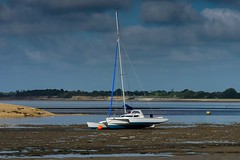 When the boat comes in. (Chris Hamilton Photography) Tags: clacton d5100 boat seaside estuary nikon yacht sailing