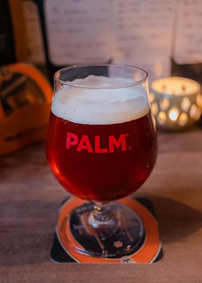 Glass of Palm ( Brewed by Rodenbach ) a 5.4% Red (t'Brugsch Bieratelier) Bruges (High ISO) ( Fujifilm X70 Compact) (1 of 1)