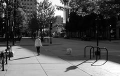 Sunday shadows on the Square (humbletree) Tags: sundaymorning madison capitolsquare fujixe2 morninglight shadows
