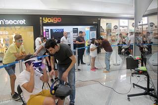Los aficionados a los videojuegos disfrutan con el 'Street Gaming' en L'Aljub