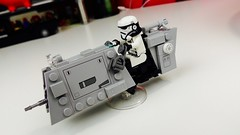 ARATECH C-PH Patrol Speeder (from Solo : a Star Wars Story) (bricksfeeder) Tags: lego moc movie starwars sw star wars creation solo story aratech cph speeder speederbike patroltrooper tutorial instructions