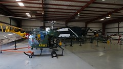 Bell 47G-3B-1 TH-13T-BF Sioux 65-8040 in Addison (J.Comstedt) Tags: aircraft flight aviation aeroplane museum airplane us force cavanaught addison texas usa bell h13 sioux army 658040 47g 47 n4077 helicopter air johnny comstedt