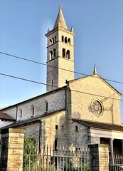 St. Anthony Church and Tower (aiva.) Tags: croatia istria pula hrvatska istra balkan jadran adriatic church architecture tower
