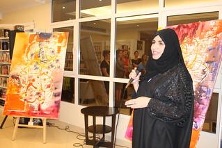 Opening exhibition Nada Al Ameri
