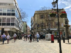 Main Street (Marc Sayce) Tags: marks spencer ms main street gibraltar may 2018
