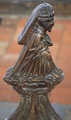 Carved man (jpotto) Tags: uk suffolk blythburgh church pew religion wood carving poppyhead