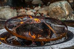 Burn Out (p) (davidseibold) Tags: america bakersfield california firepit flame jfflickr kerncounty painting photosbydavid platoct postedonflickr rust unitedstates usa