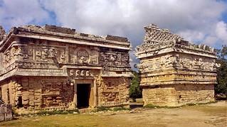 Templo de las Monjas, Lado Oriental (hoy)