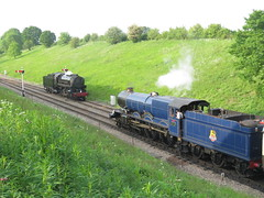 IMG_9283 (JIsaac92) Tags: gwsr cotswold festival steam gala gloucestershire warwickshire railway give regards broadway 6023 king edward ii class express blue br livery usa s160 5197