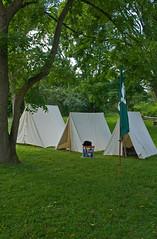 The Encampment (Nikon Guy 56) Tags: encampment tents outdoors nikon d60
